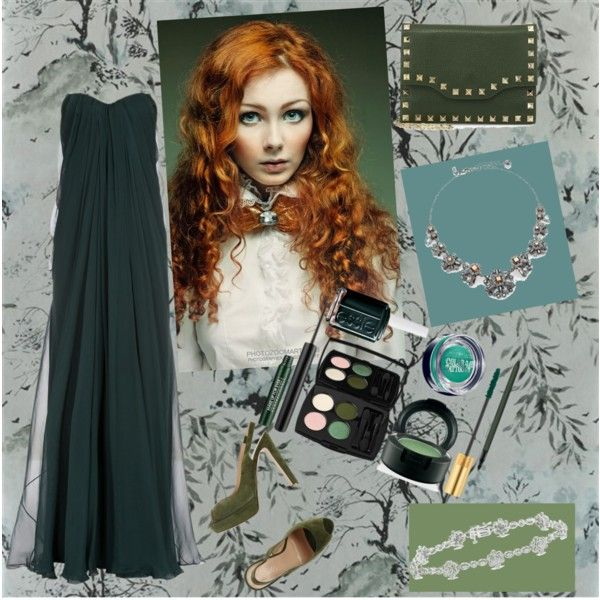 """Dark Green"" by everythingrosy on Polyvore"