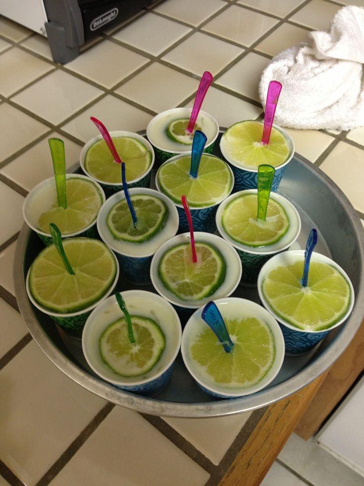 Margarita pops on the beach! | Cuisine Cravings | Pinterest