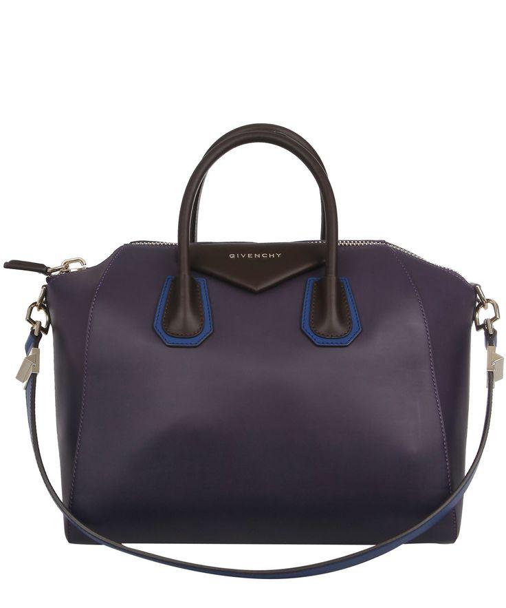Purple Antigona Two Tone Medium Tote Bag, Givenchy. Shop the latest Givenchy collection at Liberty.co.uk