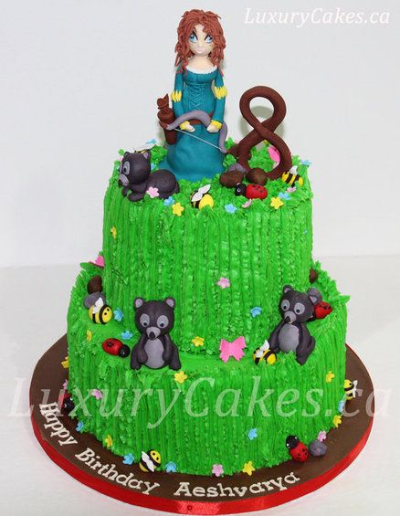 Brave cake  Cake by Sobi, obviously i would use a real doll