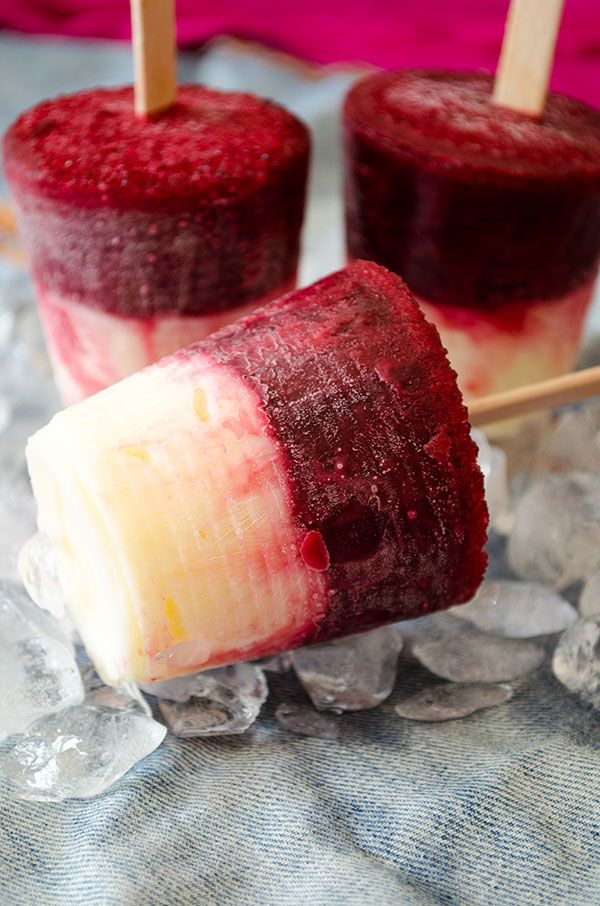pops after trying these Cherry Vanilla Pudding Pops. Heat the beat