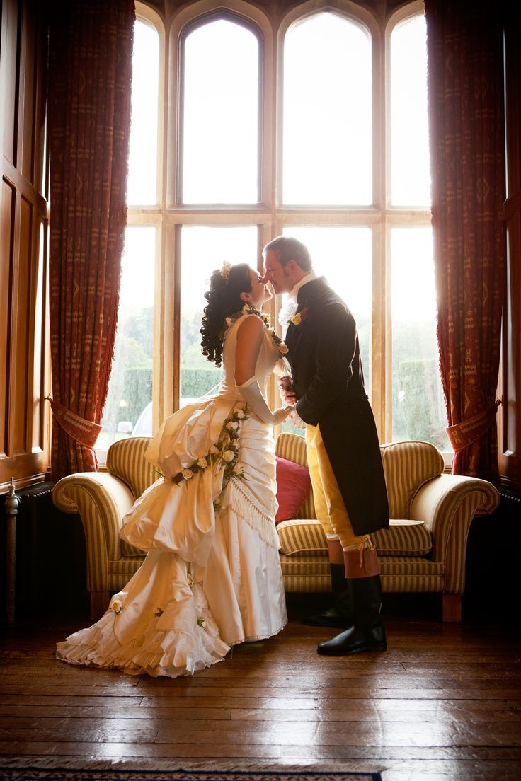 Woman's Victorian Wedding Dress