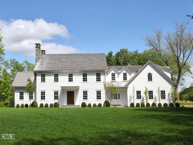 New England Saltbox Colonial Exterior Love Pinterest