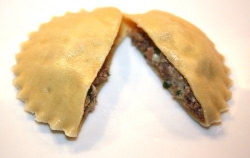ST. LOUIS HILL MEAT RAVIOLI | Food-Ravioli, naked and all | Pinterest