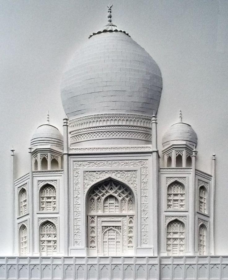 Taj Mahal Optical Illusion