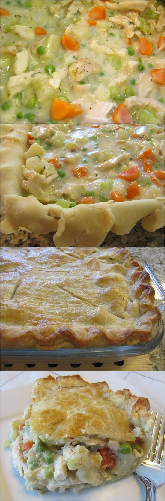Classic Chicken Pot Pie | Main Dish recipes | Pinterest