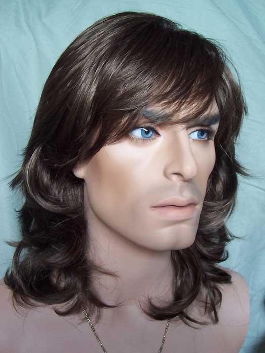 NIV-Sammy Mens Wig. Chestnut Brown. The Sammy Wig is a layered ...