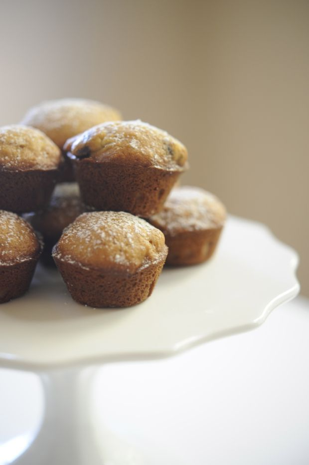 mini banana bread muffins | Sweet Muffins & Scones | Pinterest