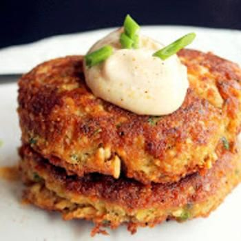 Moroccan Salmon Cakes With Garlic Mayonnaise Recipes — Dishmaps