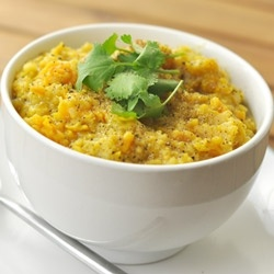 Split Pea and Sweet Potato Soup recipe | Soups | Pinterest
