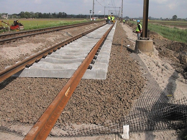 Track Ballast Stabilisation- Geogrid used in Rail