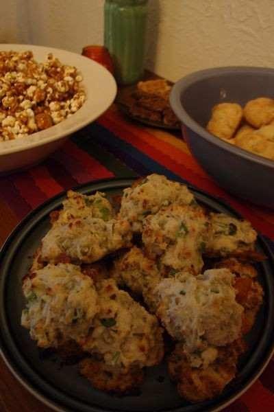 Blue Cheese - Scallion Drop Biscuits Recipe