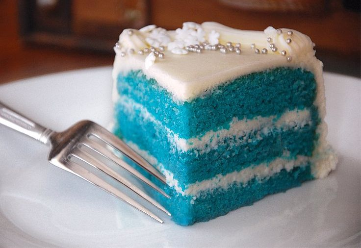 Images Of Blue Velvet Cake : Pin Blue Velvet Cake Recipe From Addapinchcom Cake on ...