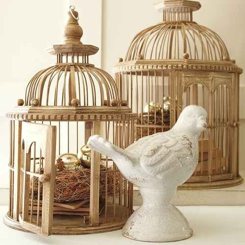 Vintage Bird Cages For Home Decor Craft Ideas Pinterest