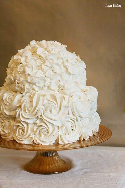 homemade wedding cake Wedding Love Pinterest
