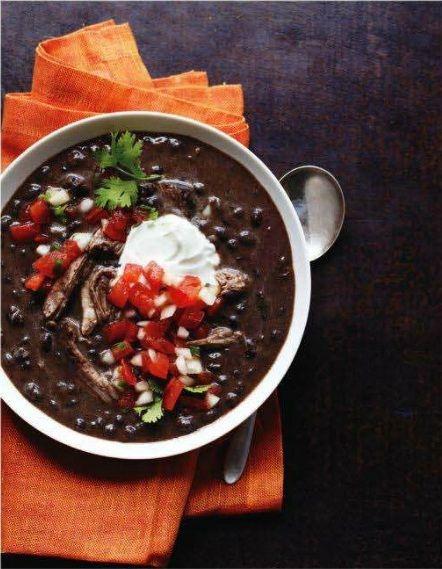 slow-cooker pork and black bean soup | Yummies :) | Pinterest