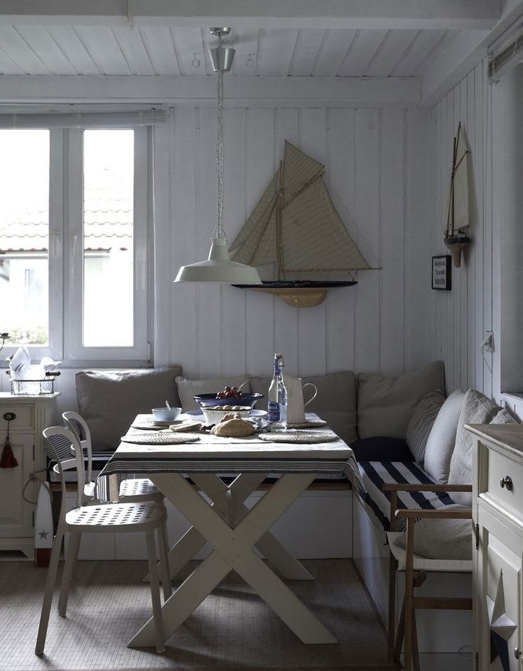 Small dining area inspired by ikea my dream kitchen for Small dining area
