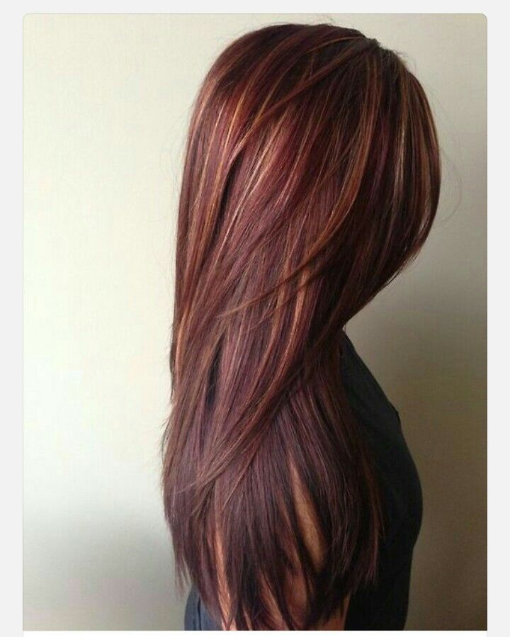 how to get deep dark red hair