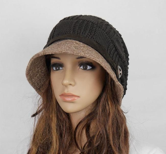 Knitted Hat Patterns For Women : Pinterest