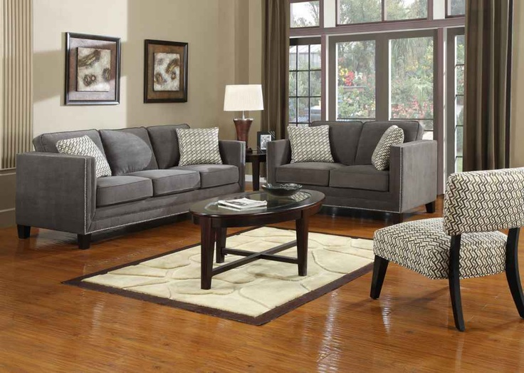 Gray Couches Living Room Pinterest