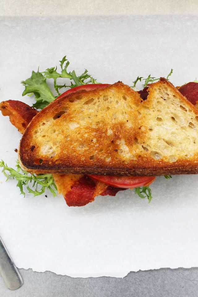 BLT with Avocado Spread | Food and Libations | Pinterest