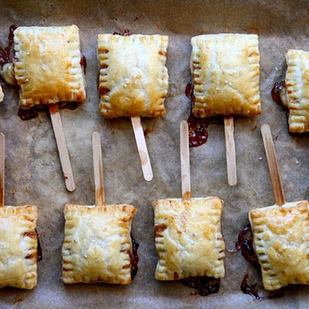 Bite-Sized Baked Brie | Food and Drink | Pinterest