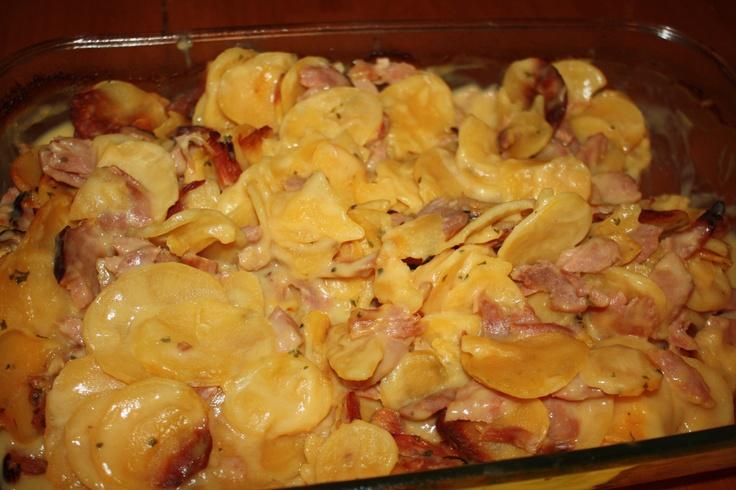 Ham and Scalloped Potato Casserole #OreIdaDinner | Cooking Ideas ...