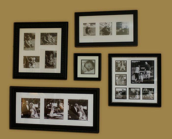 Picture Frame Arrangement Home Ideas Pinterest