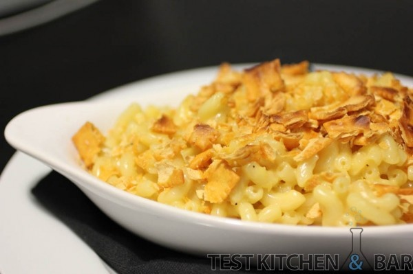 ... new recipe for mac and cheese, but this one has a Cheez-It Crust