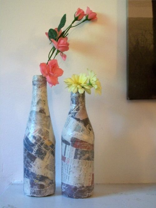 Pin by pyteacher1908 on kids who care upcycling pinterest for Easy paper mache crafts