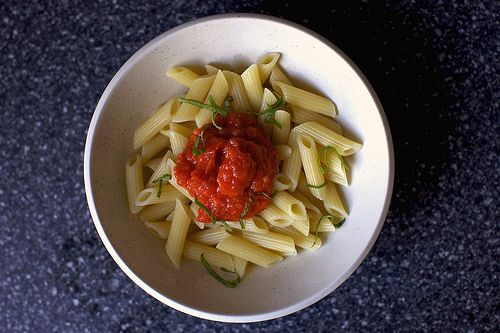 Awesome fresh tomato sauce. Made this sauce with some (ok, a lot) of ...