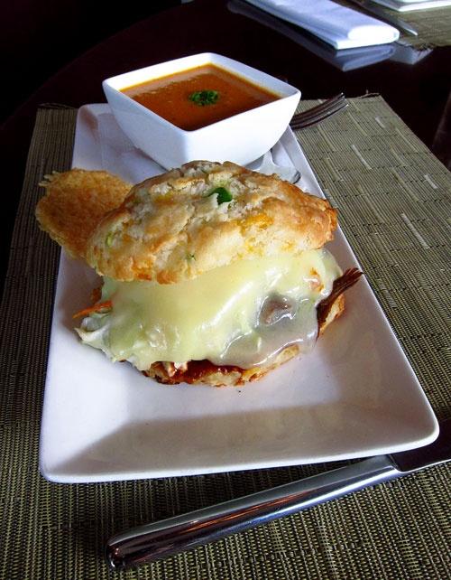"""Kiawe Smoked Pork & Avocado """"Grilled"""" Cheese: Provolone, Carolina ..."""