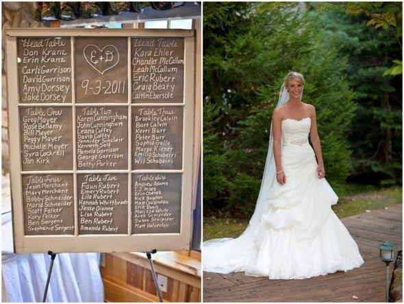 Diy window frame seating chart michigan diy wedding by emilia jane