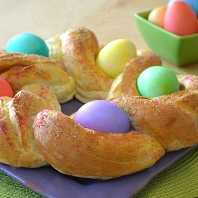 Orange-Filled Easter Bread | Recipe