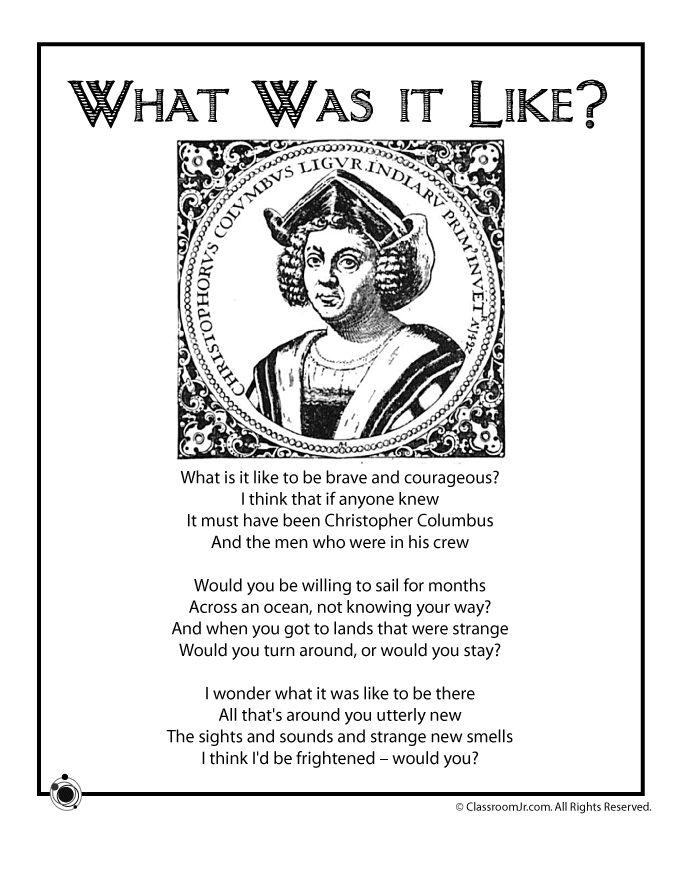 essay on christopher columbus for kids