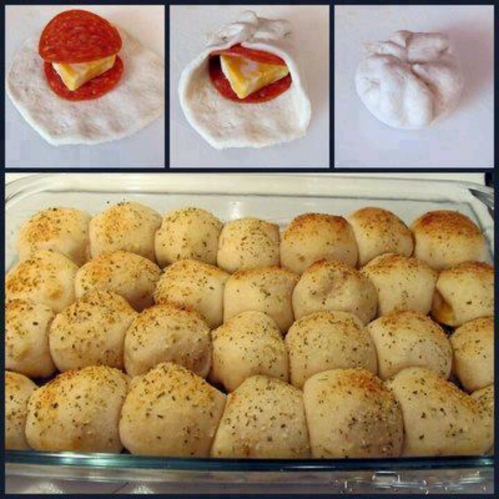 Pizza balls. I want to try these. | recipes | Pinterest