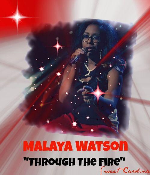 Malaya watson quot through the fire quot 80 s week