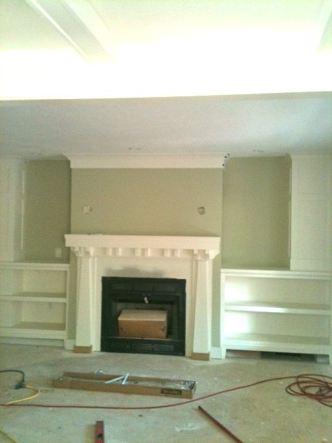 Updated Craftsman Style Fireplace New Home Pinterest