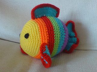 Free Crochet Fish Pillow Pattern : Freddie the Fish - free crochet pattern Crochet I LOVE ...