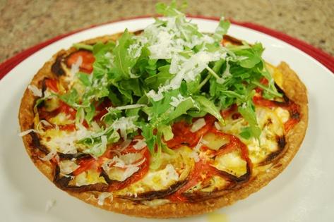 Tomato and ricotta tart - CityLine for dinner tonite!