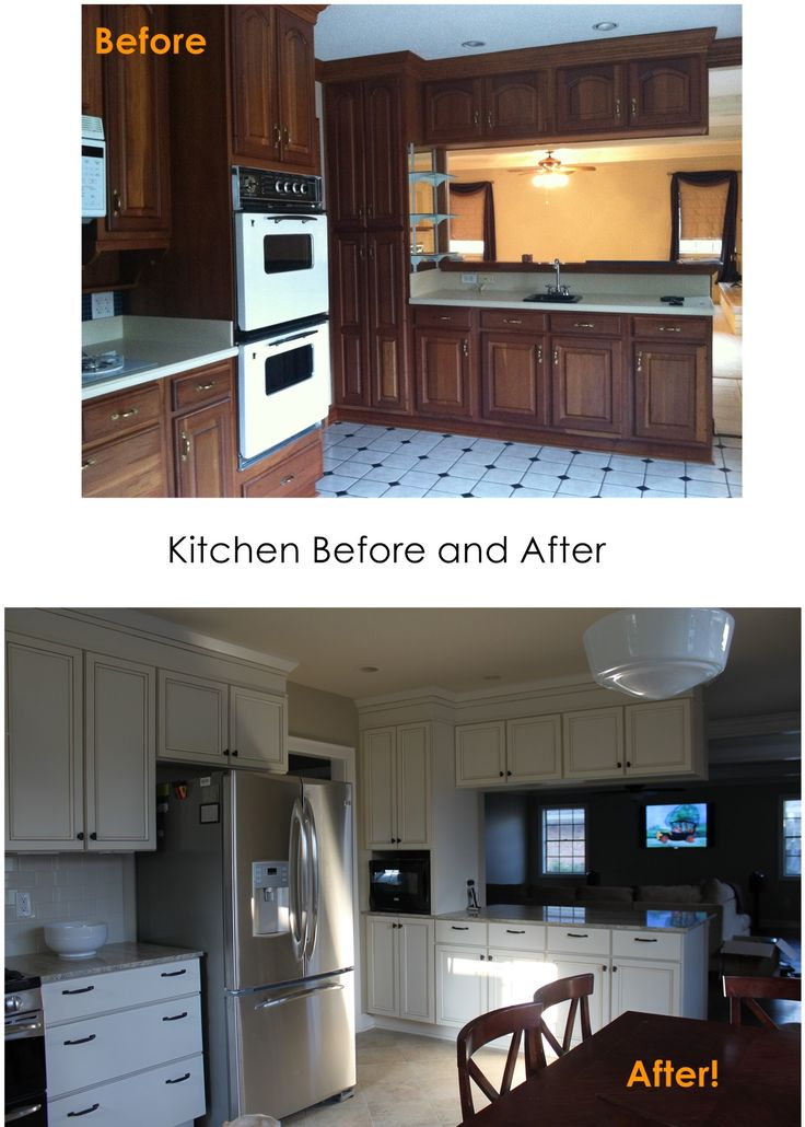Kitchen remodel before and after home pinterest - Kitchen remodel before after ...