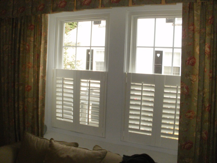 Half Shutters Beautiful Window Treatments From The Blind