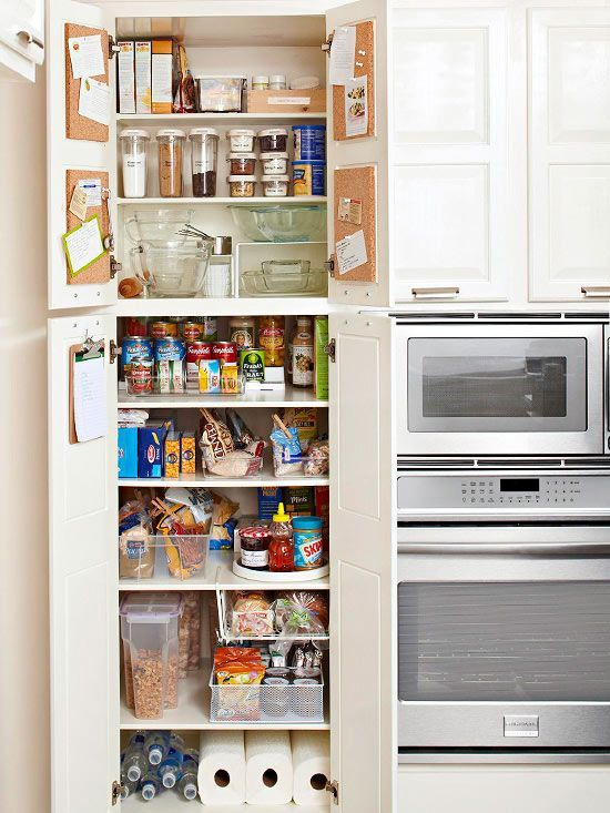 top tips for kitchen pantry organization