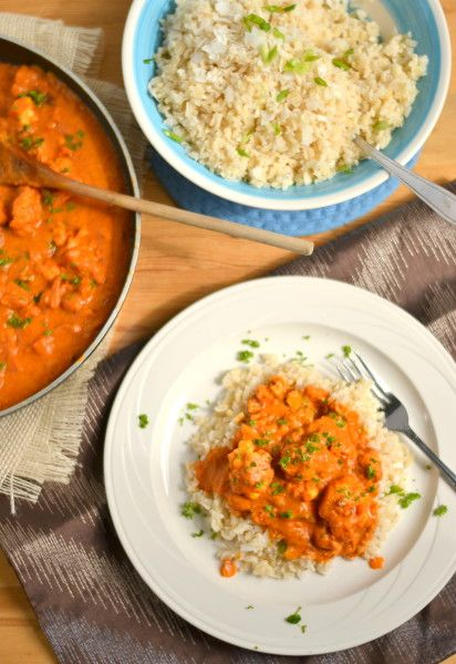 with coconut brown rice {this recipe takes A LOT of coconut ...
