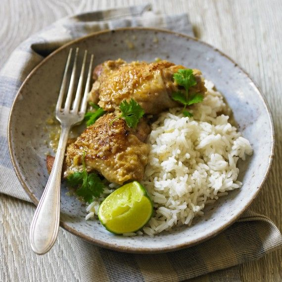 Chicken braised with lemongrass and ginger - Woman And Home
