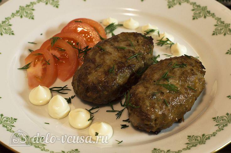 Котлеты мясные рецепты с пошаговым