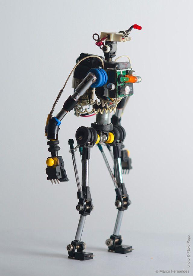 Роботы для девочек сделать своими руками 59