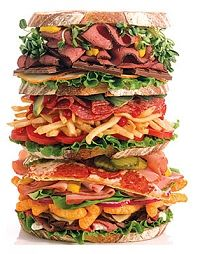 This sandwich redefines a mouthful!