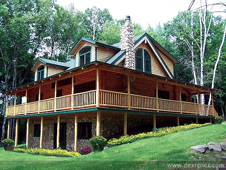 Alta Log Homes On The Front Line Of New Technology