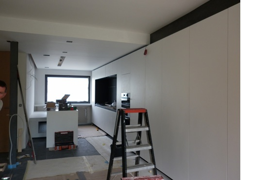 keuken - kastenwand  Interieur  Pinterest